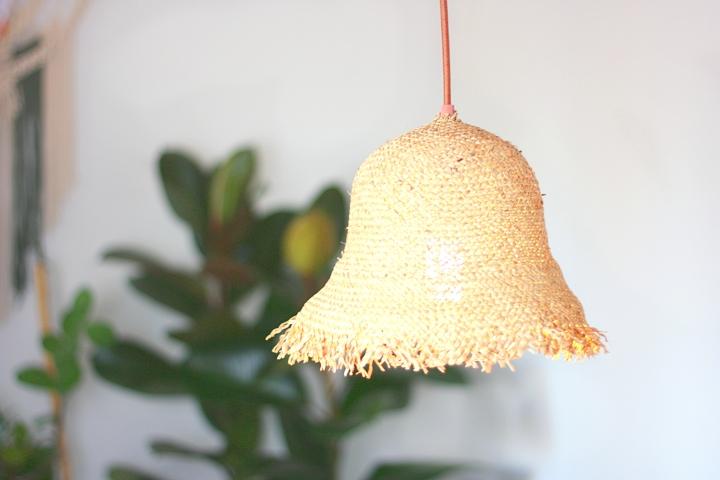DIY: Lampenschirm aus einemStrohhut