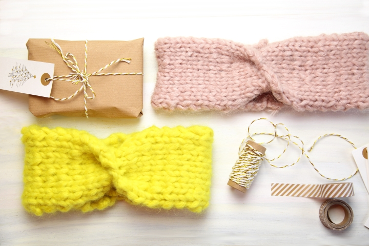 DIY: Stirnband mit Twist stricken