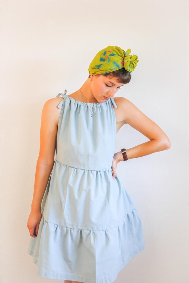 DIY: Einfaches Kleid mit Rüschennähen