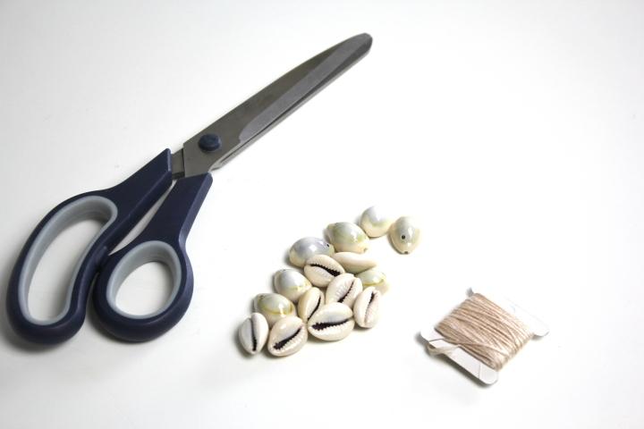 DIY Muschel Kette Choker (2)